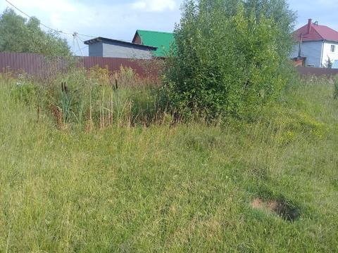 Отличный участок 6 сот. в СНТ Полёт вблизи с. Сертякино на Гривно - Фото 1