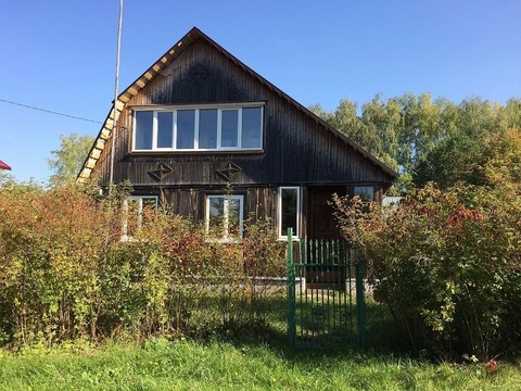 Продается дом 100 кв.м, 10 соток в д. Новые Выселки(около п. Малино) - Фото 1