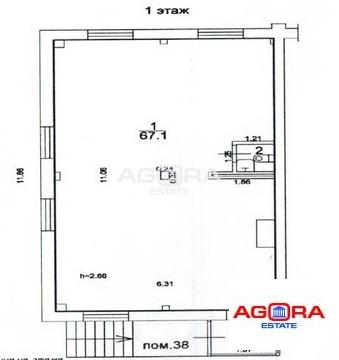 Продажа торгового помещения, м. Беговая, Хорошевский 1-й проезд - Фото 2