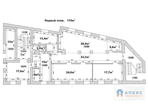 Аренда офиса 130 м2 м. Электрозаводская в бизнес-центре класса В в . - Фото 2