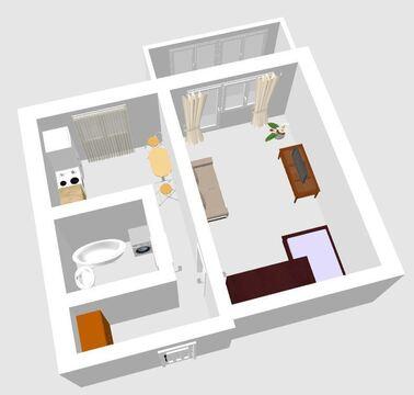 1-к квартира ул. Челюскинцев, 76 - Фото 1