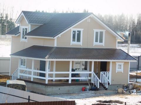 Дом из бруса 145 кв.м. на земельном участке 14 соток. Киевское шоссе - Фото 4