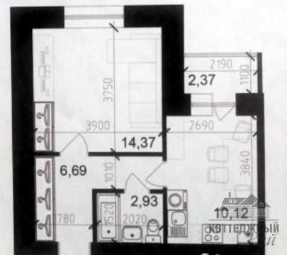 Продажа 1 комнатной квартиры Псковская, 56к1 Великий Новгород - Фото 2