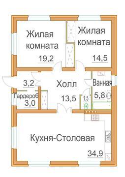 Новый кирпичный дом 100 м по цене гостинки! - Фото 2