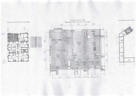 Продажа трехкомнатной квартиры по цене ниже застройщика - Фото 2