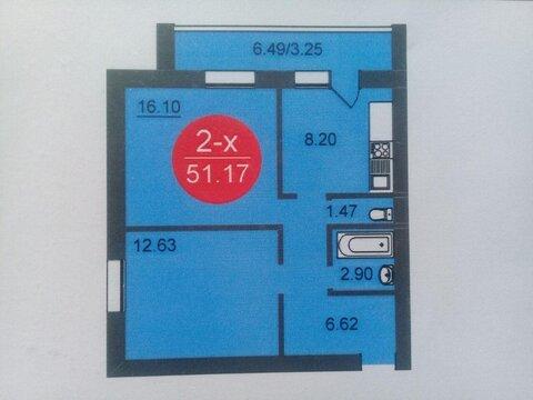 2-комнатная квартира на Диктора Левитана