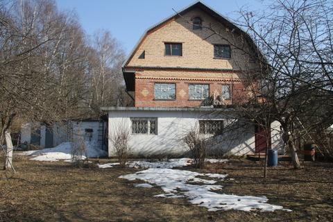 Дом 150 кв м 13 сот.д. Прокшино, Калужское или Киевское шоссе - Фото 1