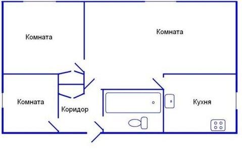 Продаётся 3-х комнатная квартира в тихом районе г. Харцызска