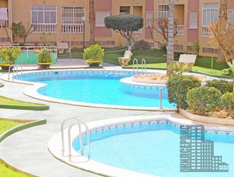 3-комнатная квартира в Испании,2 спальни, кондиционер, бассейн, парк - Фото 1