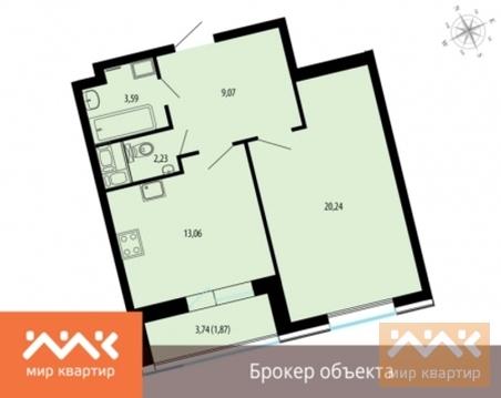 Продается 1к.кв, Жукова - Фото 1