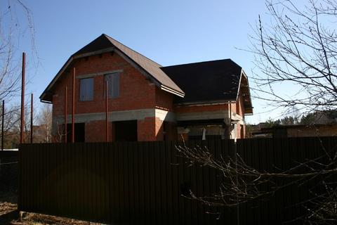Продам дом недострой 220 м на участке 10 сот, Истринский р-н, Борки-3 - Фото 2