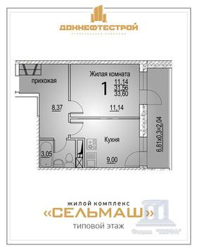 Распродажа квартир в ЖК Сельмаш по очень привлекательным ценам - Фото 1