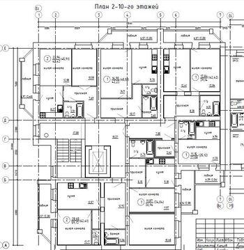 Продажа 1-комнатной квартиры, 42.42 м2, Гороховская, д. 81 - Фото 1
