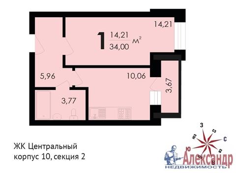 Продам 1к. квартиру. Звенигород г, Почтовая ул, д.36 к.10 - Фото 2