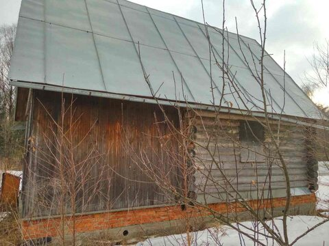 Сруб 6х9 м. на участке 10 сот. в СНТ Янтарь, г. Чехов, Волосово - Фото 5