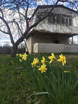 Двухэтажная кирпичная дача в Переславском районе, м.Коровино - Фото 1