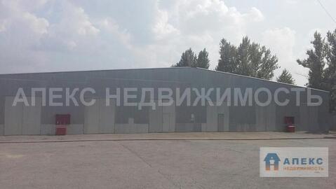 Аренда помещения пл. 1000 м2 под склад, м. Каширская в складском . - Фото 1