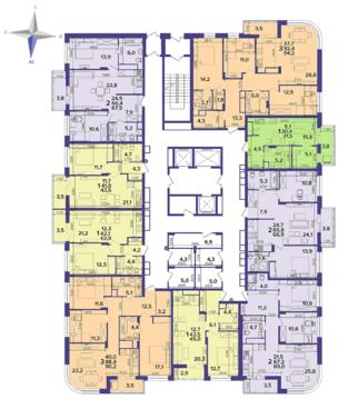 Продажа двухкомнатной квартиры в Центре, ул. Кальная 79 - Фото 2