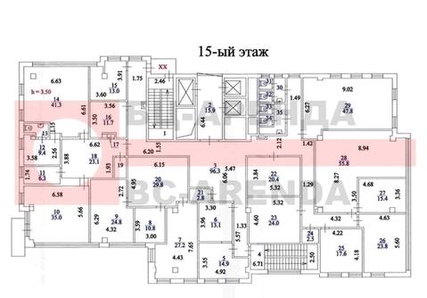 Сдам офисное помещение 584.7 м2, Рязанский пр-кт, 24 корп.2, Москва г - Фото 2