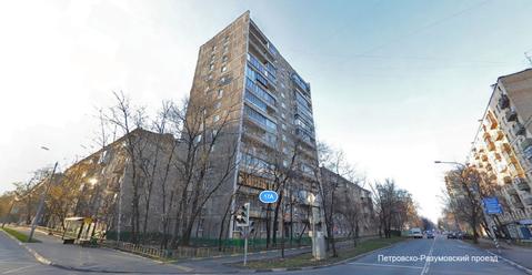 1-ком квартира м. Динамо, Петровско-Разумовский пр, д. 17а, - Фото 1