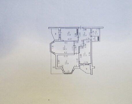 Купить Трехкомнатную Квартиру с ремонтом в монолитном доме. - Фото 3