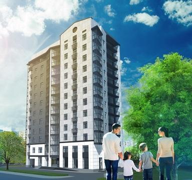 Большая 3-х комнатная квартира в новом доме на Благоева 21 - Фото 3