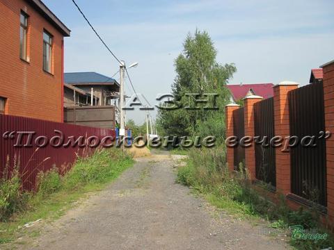 Дмитровское ш. 14 км от МКАД, Лобня, Участок 6 сот. - Фото 1