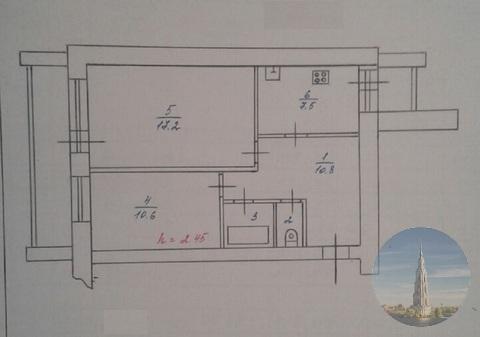 753. Калязин. 2-х-комнатная квартира 49,9 кв.м. на ул. Советская. - Фото 5