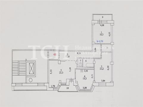 3-комн. квартира, Королев, пр-кт Космонавтов, 37к1 - Фото 2