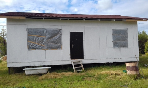 Продаем земельный участок с недостроенным садовым домом - Фото 3