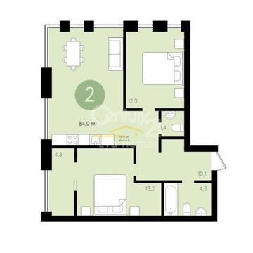 Продам 2-комнатную квартиру Екатеринбург, ул. Гастелло, д. 27 - Фото 3