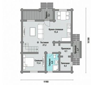 Дом 160 м2 с Газом, Озеро, Детские площадки, кп Лесные Озёра - Фото 2
