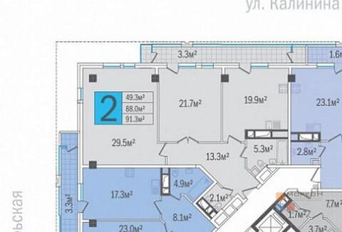 Продажа квартиры, Краснодар, Улица Будённого, Купить квартиру в Краснодаре по недорогой цене, ID объекта - 325914230 - Фото 1