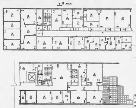 Офис 111 кв.м в БЦ нииполиграфмаш, Профсоюзная д.57 - Фото 5