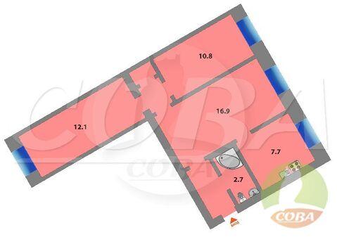 Продажа квартиры, Ялуторовск, Ялуторовский район, Ул. Свердлова - Фото 1
