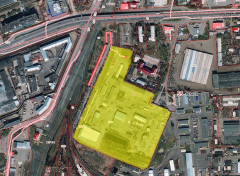 Производственно - складская база Омск, ул.10 лет Октября, 180 - Фото 2