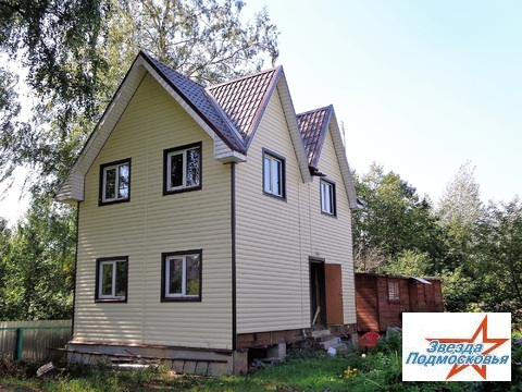 Новый добротный утепленный дом из бруса 110 кв.м СНТ Селянин - Фото 1