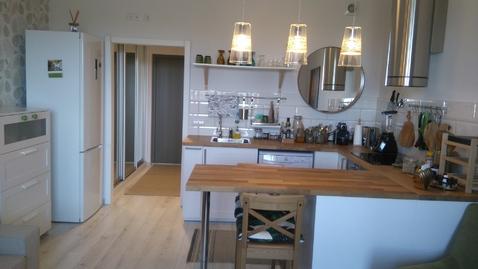 Квартира студия 37кв.м. в Скандинавском стиле в Пушкине - Фото 1