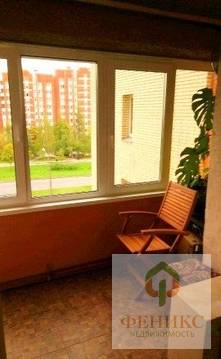 Теплая, солнечная 1-к квартира, Приморский р-н, Вербная ул, д.10к.1 . - Фото 5