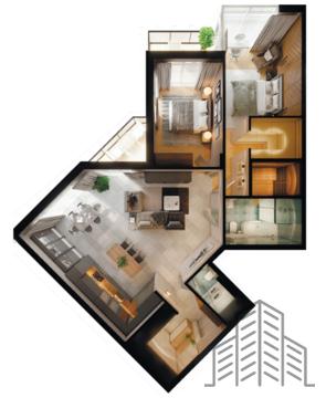 Эксклюзивная 3 комнатная квартира в жилом комплексе русская европа - Фото 1