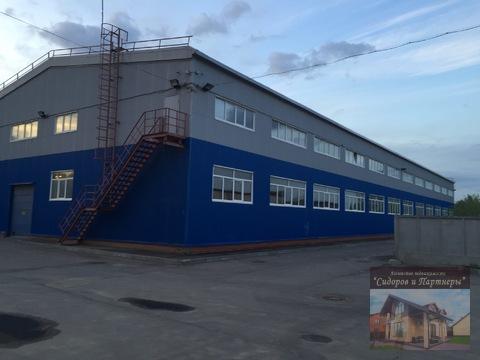 Сдается производственно-складской комплекс на участке 1 га - Фото 1