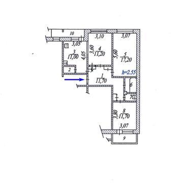 Продам 3 квартиру в 5 этажном панельном доме по пр.Тракторостроителей - Фото 1