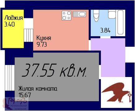 Квартира, ЖК Дома на Ливенской, г. Орел - Фото 1
