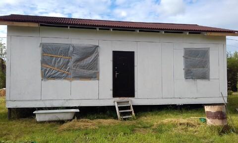 Продаем земельный участок с недостроенным садовым домом массив Назия - Фото 4