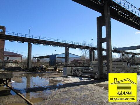 Площадка с твердым покрытием мостовыми кранами 5-10т тупик, весовая - Фото 5