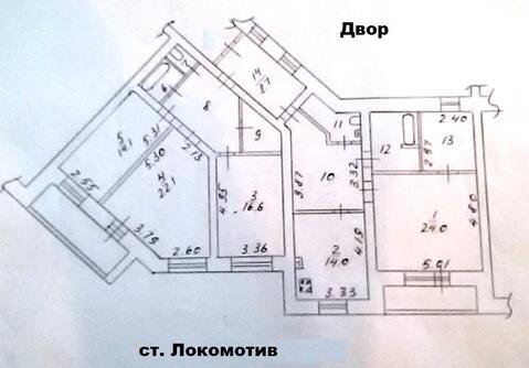 Объявление №47449271: Продаю 4 комн. квартиру. Вологда, ул. Молодежная, д. 15А,