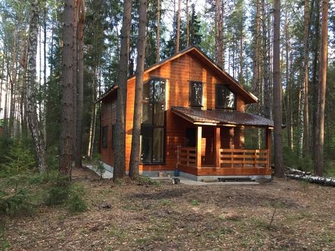 Загородный новый дом в лесу на берегу Волги - Фото 5
