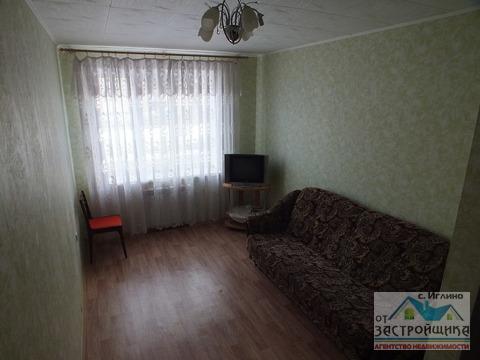 Продам 1-к квартиру, Иглино, улица Ворошилова 28а - Фото 1