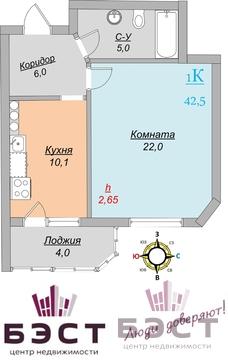 Квартира, ул. Строителей, д.31 - Фото 1