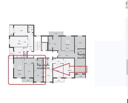 Купить двухкомнатную квартиру в монолитном доме, с видом на море. - Фото 2